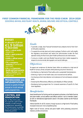 first_common_financial_framework_food_chain_2014_2020